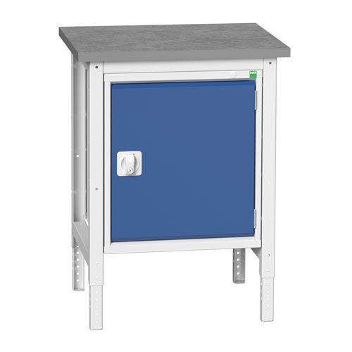 Bott Verso Adjustable Workbench & Cabinet HxWxD 780-930x700x600mm