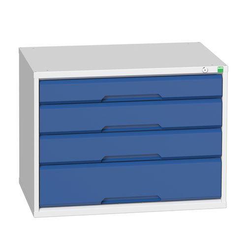 Bott Verso Heavy Duty Drawer Cabinet HxWxD 600x800x550mm