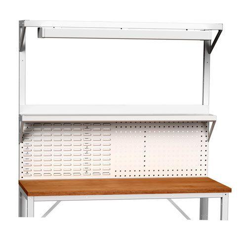 Bott Verso Extra Panel With Light & Shelf For 1500mm Framework Workbenches