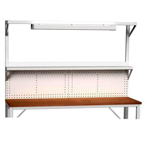Bott Verso Extra Panel With Light & Shelf For 2000mm Framework Workbenches