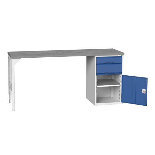 Bott Verso Industrial Workbench With 2 Drawers HxWxD 930x2000x600mm
