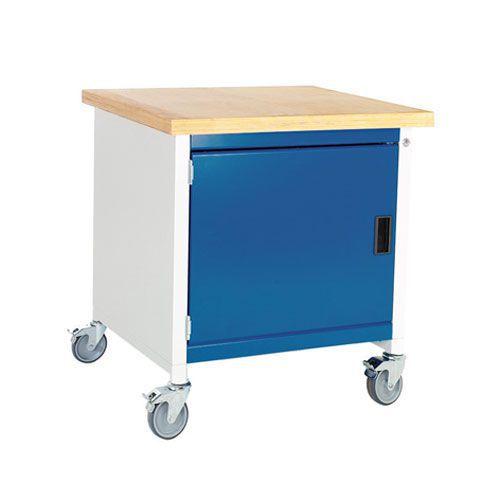 Bott Cubio Mobile Workbench With MPX Worktop HxWxD 840x750x750mm