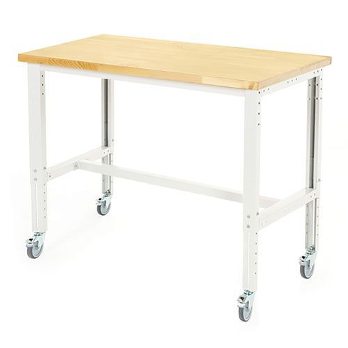 Bott Cubio Mobile Workbench With MPX Worktop HxWxD 840-1140x1500x900mm