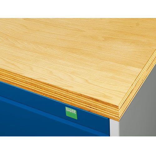 Additional Worktop For Bott Cubio Workbench WxD 800x750mm