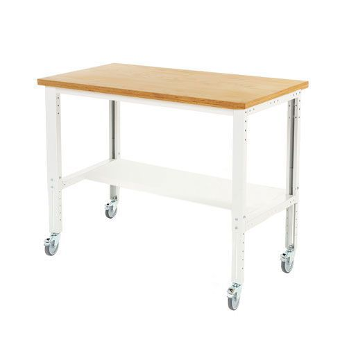 Bott Cubio Mobile Workbench with Height Adjustment 840-1140x1500x750mm