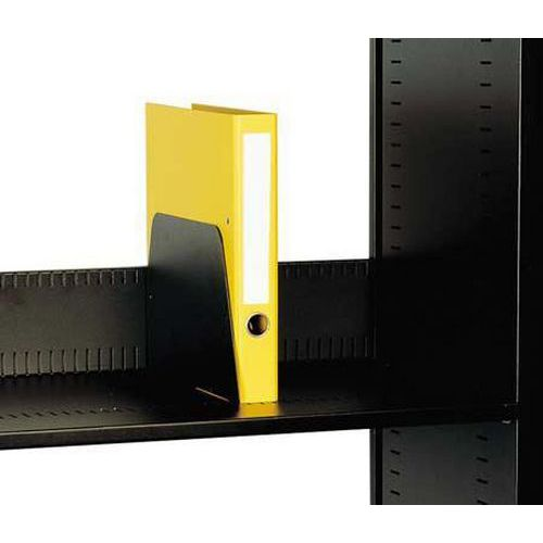 Slotted Filing Shelf & Dividers for Tambour Storage System