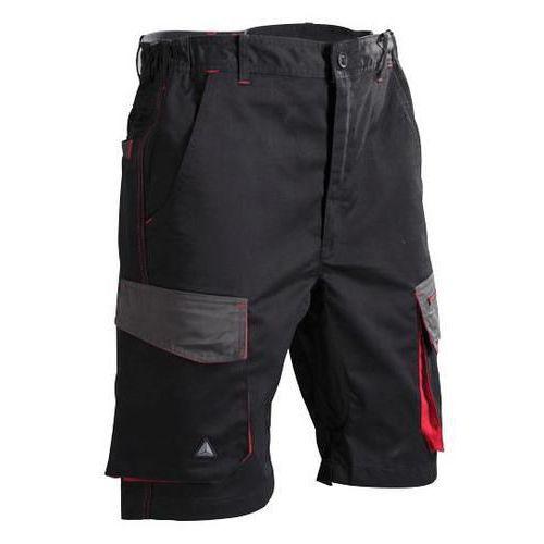 D Mach Work Shorts Black/Red
