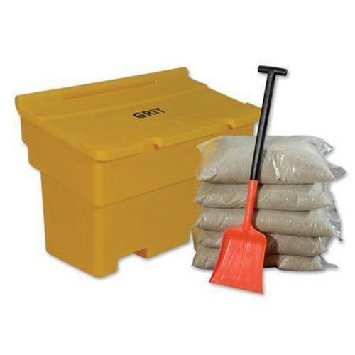 200L Grit Bin Kit with Salt & Shovel