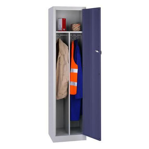 Clean & Dirty Workwear Lockers - 1800x450x450mm