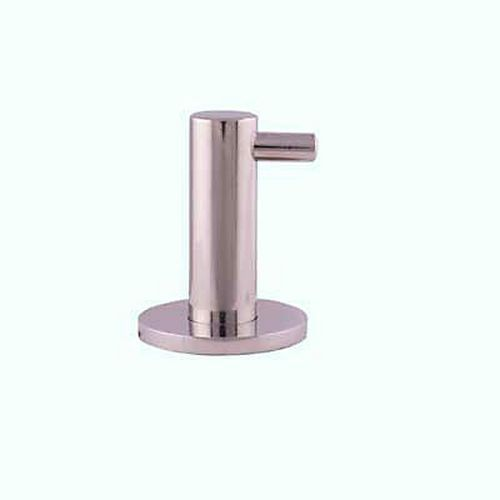 Altro Modern Single Coat Hook - Polished Stainless Steel