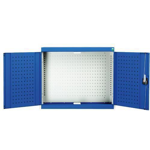 Bott Cubio Wall Mounted Cupboard With Perfo Door Storage