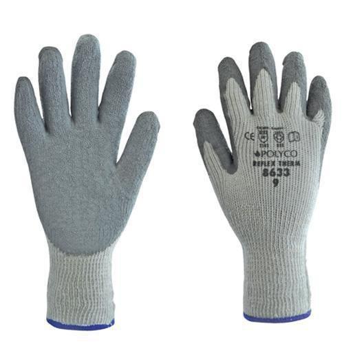 Thermal Latex Grip Gloves