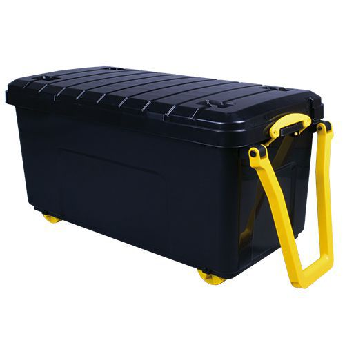 Large Really Useful Storage Box with Wheels - 160L