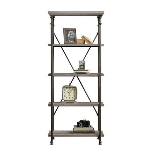 Portobello Retro Design 4 Shelf Bookcase