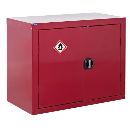 Red Flammable COSHH Cabinet 700x900x460mm