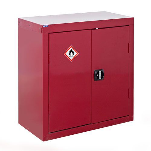 Red Flammable COSHH Cabinet 900x900x460mm