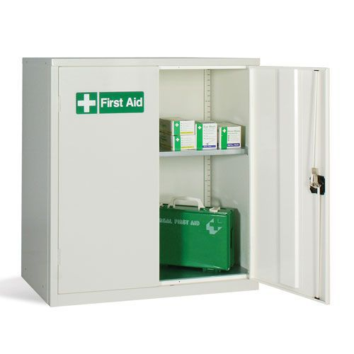 White First Aid Cabinet 1000x915x457mm