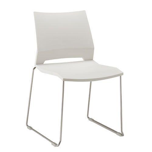 Rome Plastic Skid Base Chair