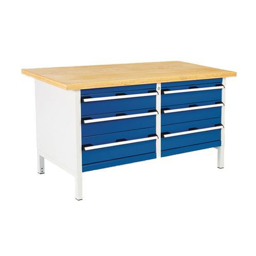 Bott Cubio Heavy Duty Workbench with 6 Drawers