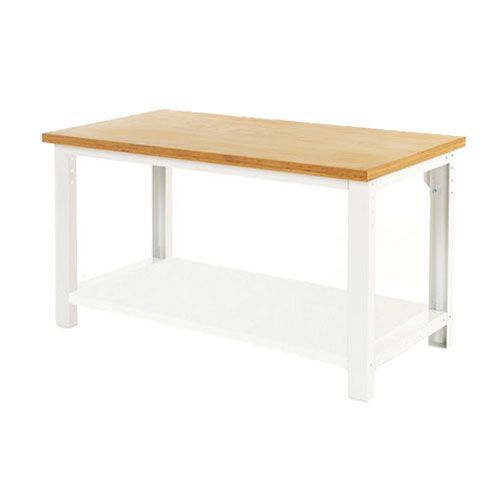 Bott Cubio Heavy Duty Workbench With MPX Worktop & Shelf HxWxD 840x1500x750mm