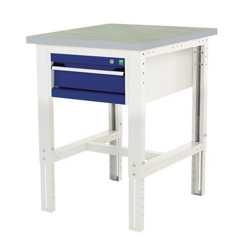 Bott Cubio Height Adjustable Workbench & Drawers 740-1140x750x750mm