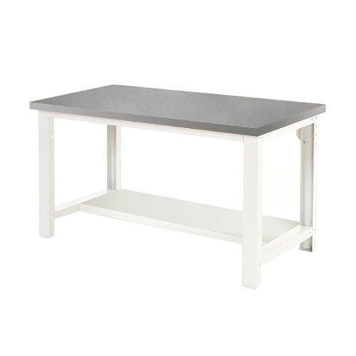 Bott Cubio Heavy Duty Workbench With Lino Worktop & Shelf HxWxD 840x1500x900mm