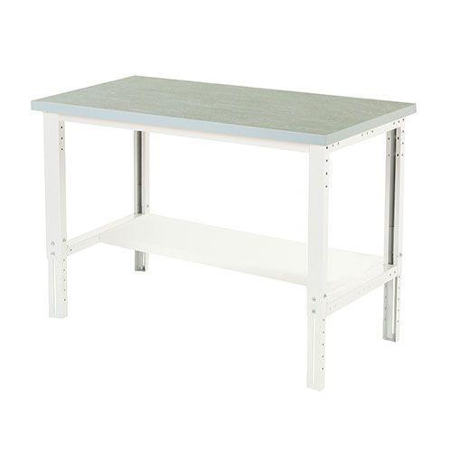 Bott Cubio Height Adjustable Workbench Shelf & Lino Top 740-1140x1500x900mm