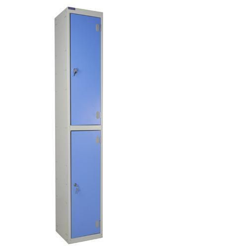 Laminate Lockers 2 Door - 1800x300x300mm