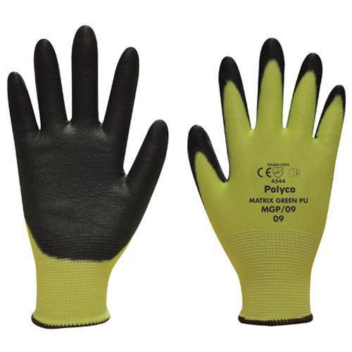 Maximum Hand Protection Gloves - Green