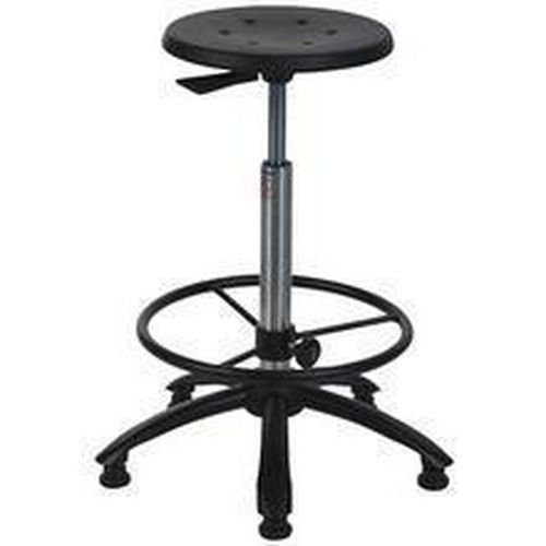 Workshop Stool with Footrest