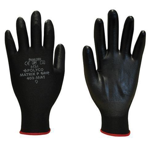 Lightweight Nylon/PU Gloves - Pack of 12