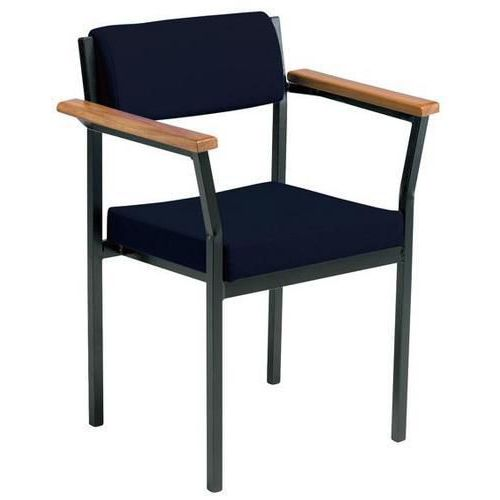 Rainier Low Back Meeting Room Chairs with Arms