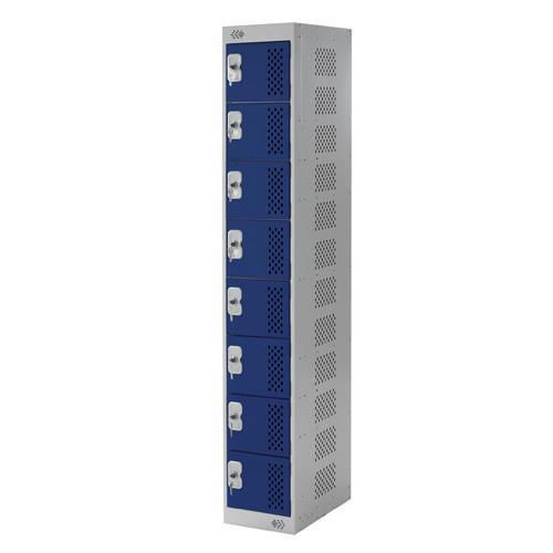 Tool Charging Lockers 8 Doors - 1800x300x450mm