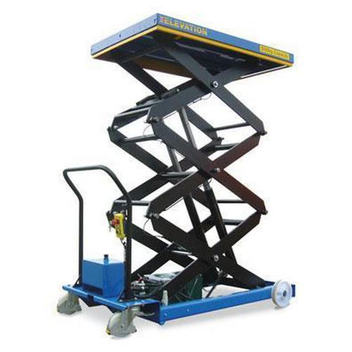 Triple Scissor Lift Table
