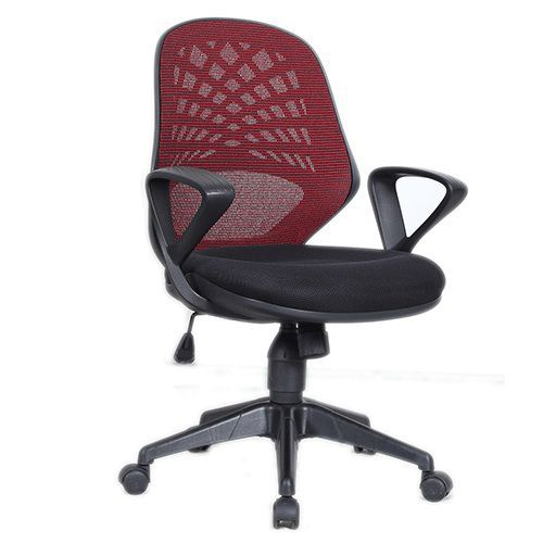 Halo Office Mesh Chair with Fixed Armrests