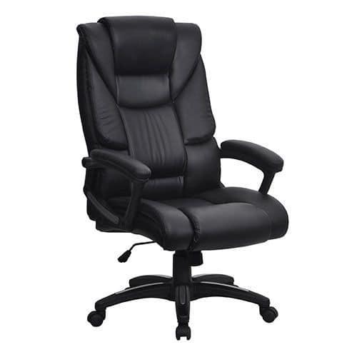 Strange Cherwell High Back Leather Executive Office Chair Manutan Uk Creativecarmelina Interior Chair Design Creativecarmelinacom