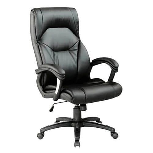 Calder High Back Leather Executive Office Chair