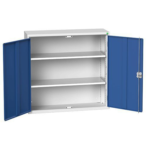 Bott Verso Metal Storage Cupboard 2 Shelves - 1000x1050mm