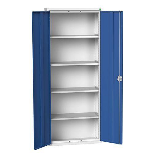 Bott Verso Metal Storage Cupboard 4 Shelves - 2000x800mm