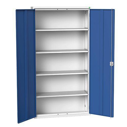 Bott Verso Metal Storage Cupboard 4 Shelves - 2000x1050mm