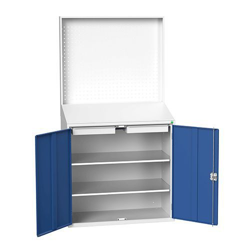 Bott Verso Document Station with Perforated Panel- 2000x1050x550mm