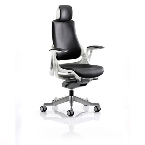 Varragill High Back Leather Office Chair