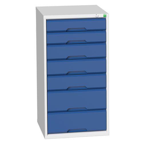 Bott Verso Multi Drawer Cabinets For Tool Storage HxWxD 1000x525x550mm