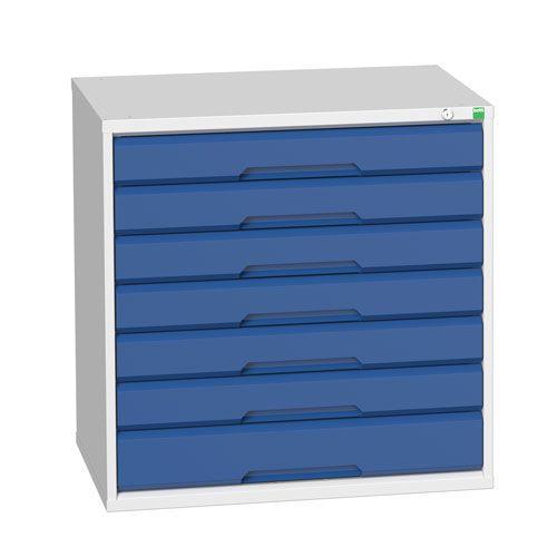 Bott Verso 7 Multi-Drawer Metal Tool Cabinet HxW 800x800mm