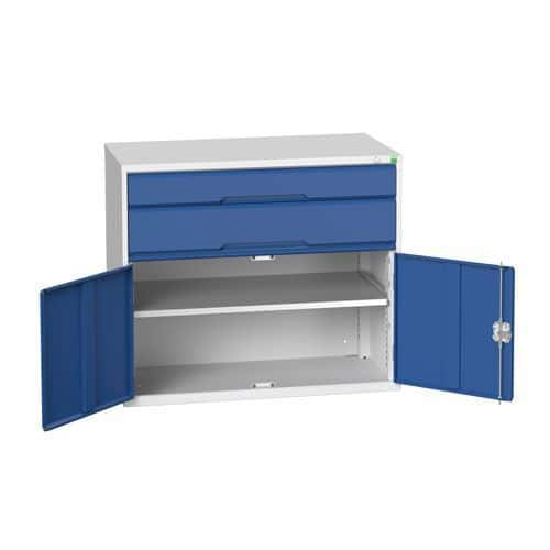 Bott Verso 1 Shelf 2 Multi-Drawer Combined Tool Cabinet 900x1050mm