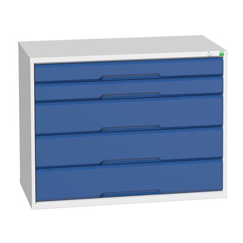 Bott Verso Multi Drawer Cabinets For Tool Storage HxWxD 800x1050x550mm