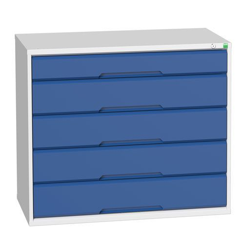 Bott Verso Multi Drawer Cabinets For Tool Storage HxWxD 900x1050x550mm