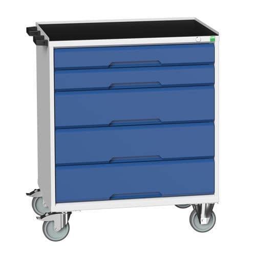 Bott Cubio Multi Drawer Mobile Tool Storage Cabinet 965x800x550mm