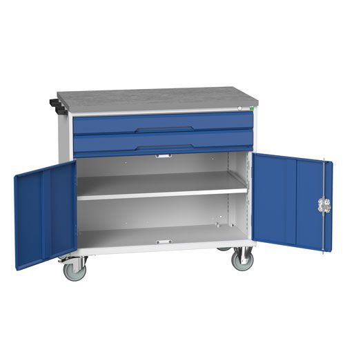 Bott Verso 2 Drawer Mobile Combination Tool Storage Cabinet 980x1050mm
