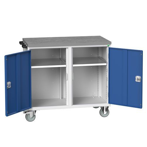 Bott Verso 2 Shelf Mobile Tool Storage Cabinet 980x1050x600mm